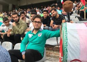 حضور پر رنگ همیار هواداران فوتبال در بازی تیم ملی ۲