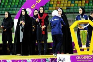قهرمانی تیم بانوان شهرداری بم در لیگ برتر