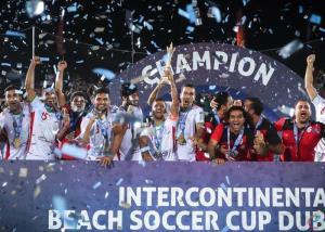 تیم فوتبال ساحلی ایران برای سومین بار قهرمان شد
