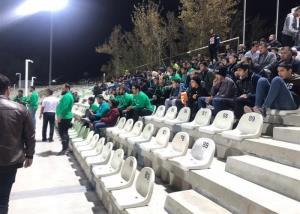 حضور حامیان هوادار در بازی ایران و امارات