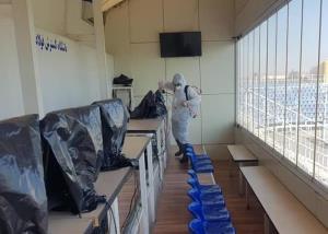 ضد عفونی ورزشگاه بنیان دیزل تبریز