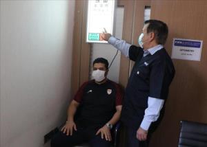 آزمایش های پزشکی فولاد خوزستان