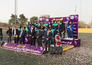 تیم فوتبال بانوان شهرداری سیرجان قهرمان شد