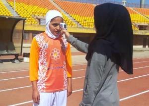 رعایت پروتکل های بهداشتی در لیگ دسته اول فوتبال بانوان