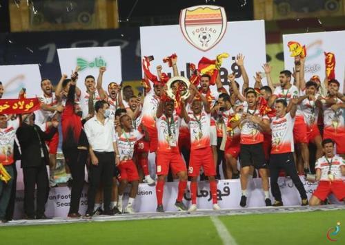 قهرمانی فولاد در جام حذفی