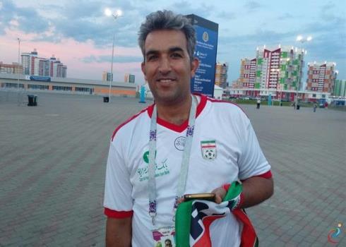 حضور پرشور هواداران تیم ملی ایران