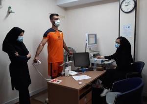 تست پزشکی پیش فصل بازیکنان فولاد خوزستان