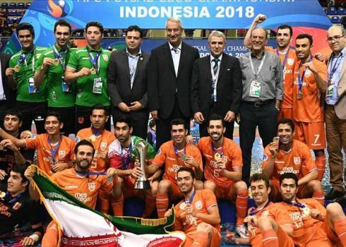 قهرمانی تیم فوتسال مس سونگون در جام باشگاه های آسیا