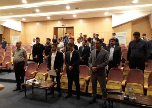 مراسم قرعه کشی لیگ دسته دوم فوتبال