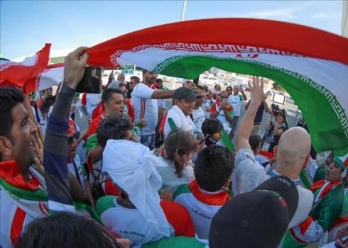 حضور پرشور تماشاگران ایرانی در بازی با ویتنام