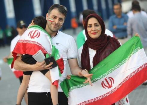 فریاد« ایران ایران» در بازی با عراق