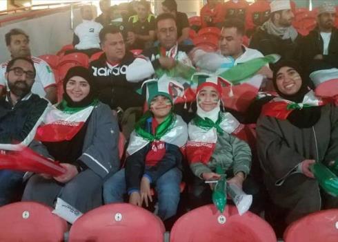 تشویق ایسلندی تیم ملی ایران