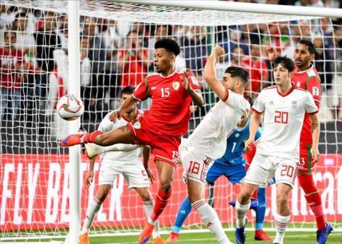 ایران و عمان از دریچه دوربین AFC